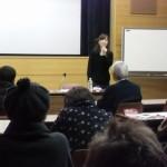 鶴ヶ島市立中央図書館での文学講座