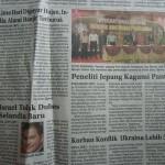 「Riau Pos 」(2014年9月9日)のセミナー紹介記事